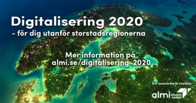 Almi: Digitalisering 2020